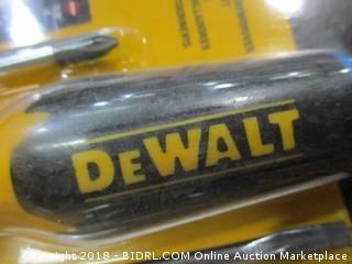 DeWalt screwdrivers kit