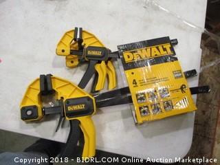 DeWalt trigger clamps