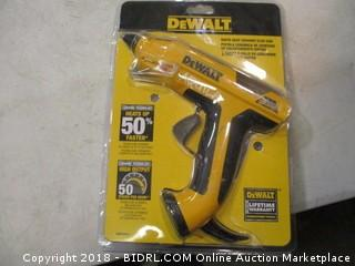 DeWalt hot glue gun