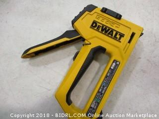 DeWalt multi-tacker
