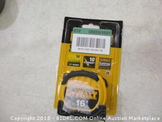 DeWalt measuring tape