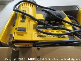 DeWalt electric stapler