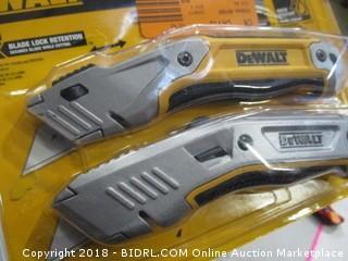 DeWalt utility knives