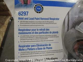 3M mold/lead paint removal respirator