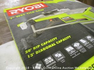 Ryobi wet tile saw