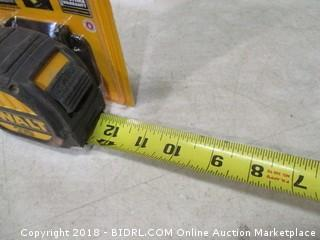 DeWalt measuring tape