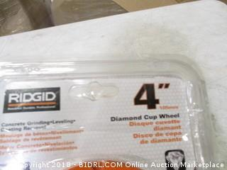 Ridgid diamond cup wheel