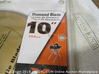 Ridgid circular diamond blade