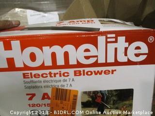 Homelite electric blower - broken