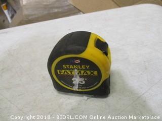Stanley measuring tape