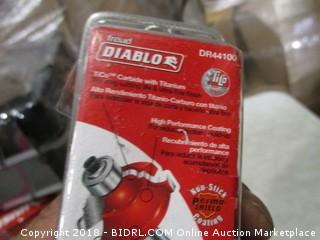 Diablo Carbide and titanium flush trim bit