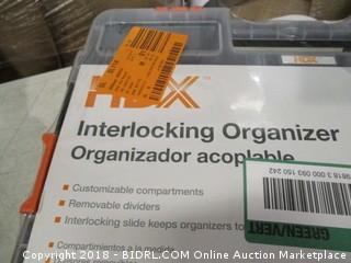 HDX interlocking organizer