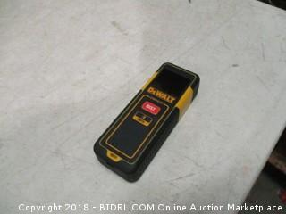DeWalt laser distance measurer