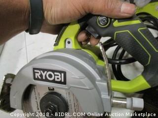 Ryobi handheld tile saw
