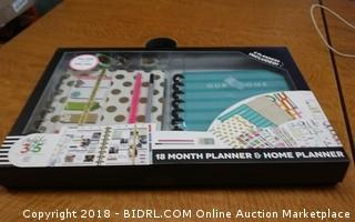 18 Month Planner & Home Planner