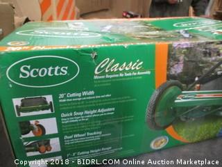 Scotts reel Mower