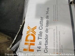 HDX Tile Cutter