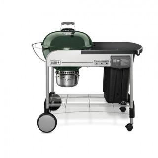 Weber 15507001 Performer Deluxe Charcoal Grill, 22-Inch, Green (Retail $399.00)