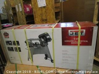 Jet 414458 HVBS-56M 5-by-6-Inch 1/2 HP Horizontal/Vertical Bandsaw (Retail $639.00)