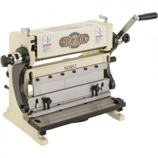 Shop Fox M1052 3-In-1 Sheet Metal Machine, 12-Inch (Retail $264.00)