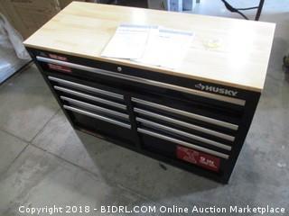 Husky multi-drawer mobile work center - damaged