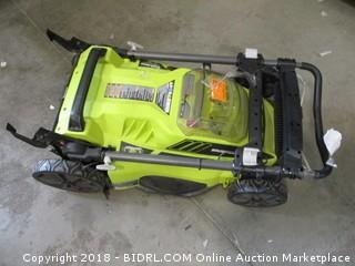 Ryobi brushless push lawn mower