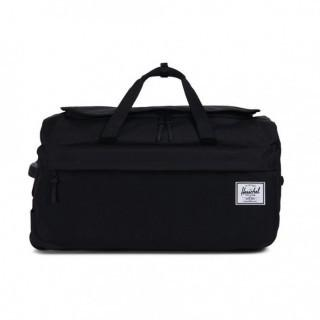 HERSCHEL WHEELIE OUTFITTER LUGGAGE BAG BLACK (ONE SIZE)