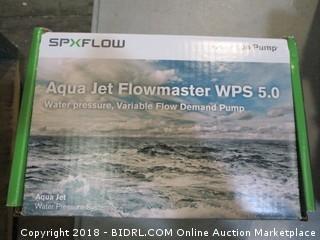 Aqua Jet Flowmaster water pump
