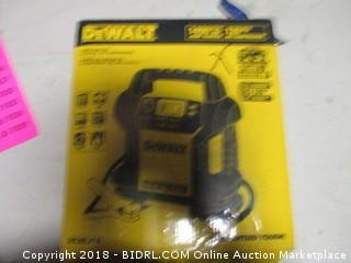 Dewalt Power station jump starter air compressor