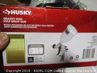 Husky Gravity Feed Spray Gun