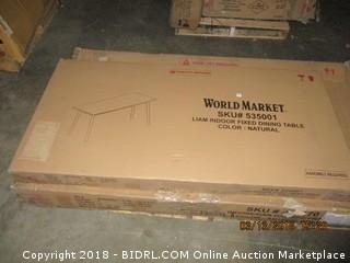 World Market Dining Table