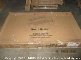 World Market Day Bed Frame