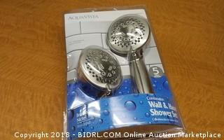 Wall & Hand Shower Set