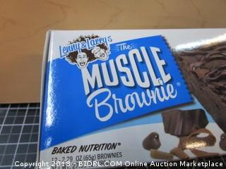 Muscle Brownie Baked Nutrition