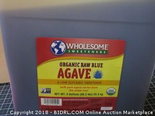Wholesome Sweeteners Organic Raw Blue Agave