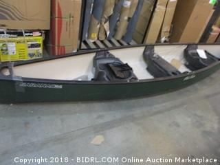 Old Town Canoes & Kayaks Saranac 160 Recreational Family Canoe, Green