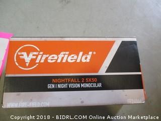 Firefield Nightfall  Gen I Night Vision Monocular