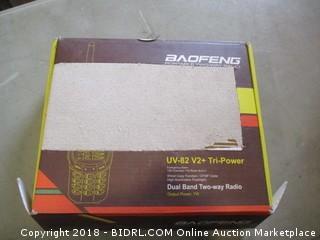 Baofeng Dual Band Two Way Radio