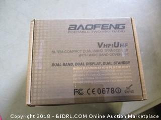 Baofenger Portable Two Way Radio