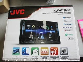 JVC monitor with DVD receiver