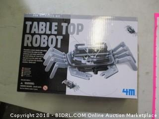 Fun Mechanics Kit table top robot