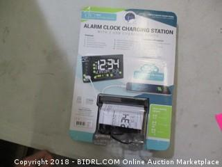 alarm clock charging station