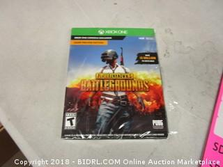 XBox One Player Unknown's Battlegrounds Game