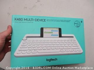 Logitech Multidevice Keyboard K480
