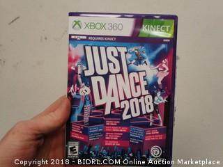 XB0x 360 Just Dance 2018