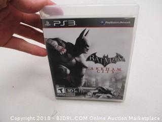 PS3 Batman Game