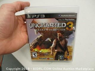 PS 3 Unchartered 3 Game