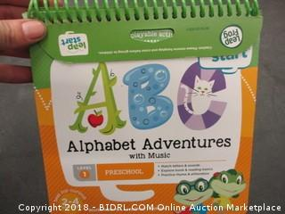 Leap Start Alphabet Adventure with music