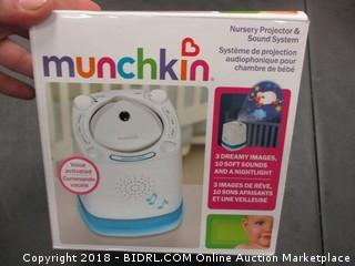 Munchkin Nursery Projector & Sound System