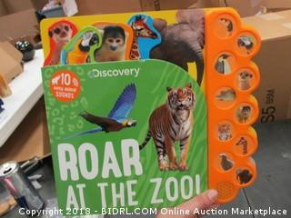 Discovery Roar At the Zoo book